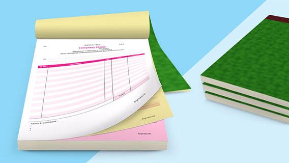 In hóa đơn bán lẻ, phiếu thu, phiếu chi, order