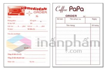 In order quán cafe giá rẻ Hà Nội